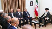 دیدار رهبران مقاوم فلسطین با رهبر انقلاب