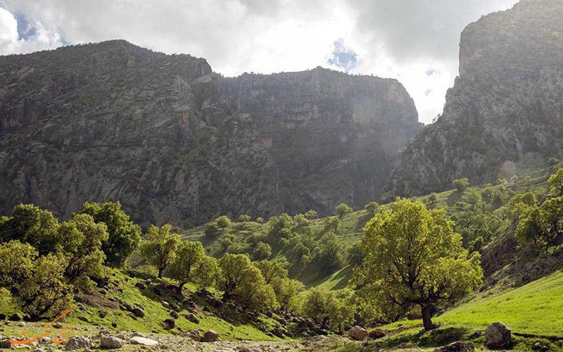 جاذبه های گردشگری ایلام - کبیر کوه