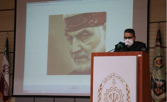 گزارش تصویری اولین سالگرد شهادت شهید حاج قاسم در ایلام